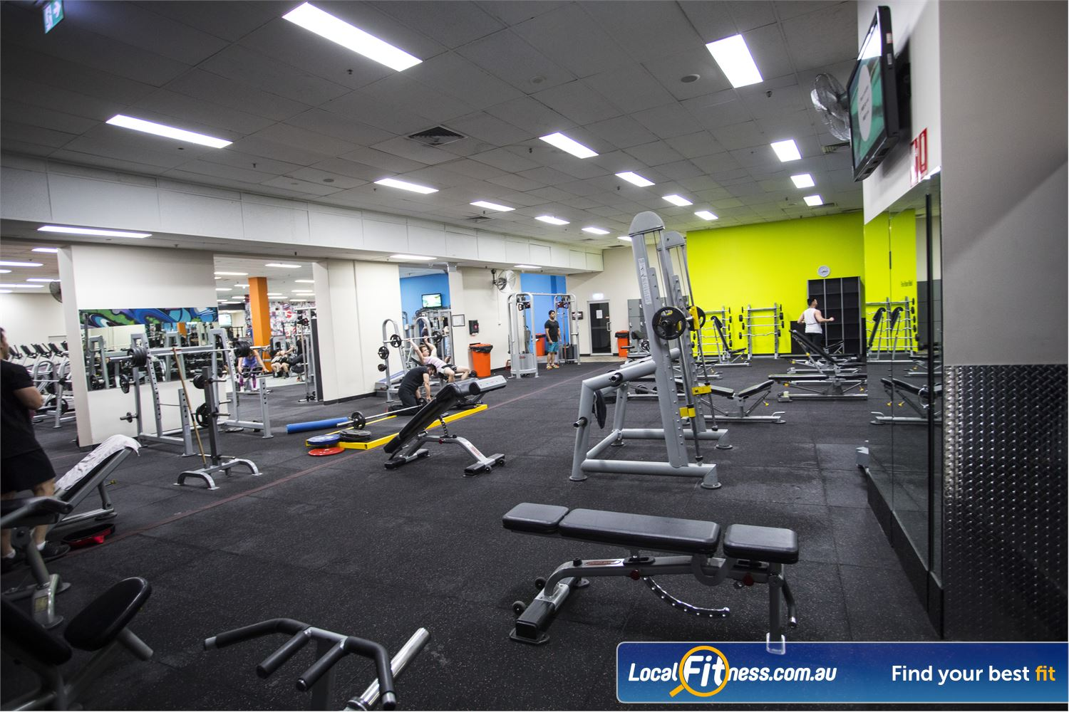 Fit n Fast Sydney Our bright, spacious and modern FNF Liverpool St Sydney gym.