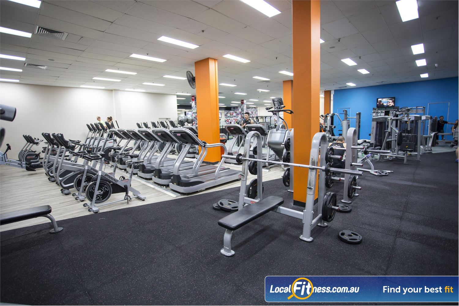 Fit n Fast Sydney Our Sydney gym provides free-weights, resistance weights and all you need to get a full body workout.