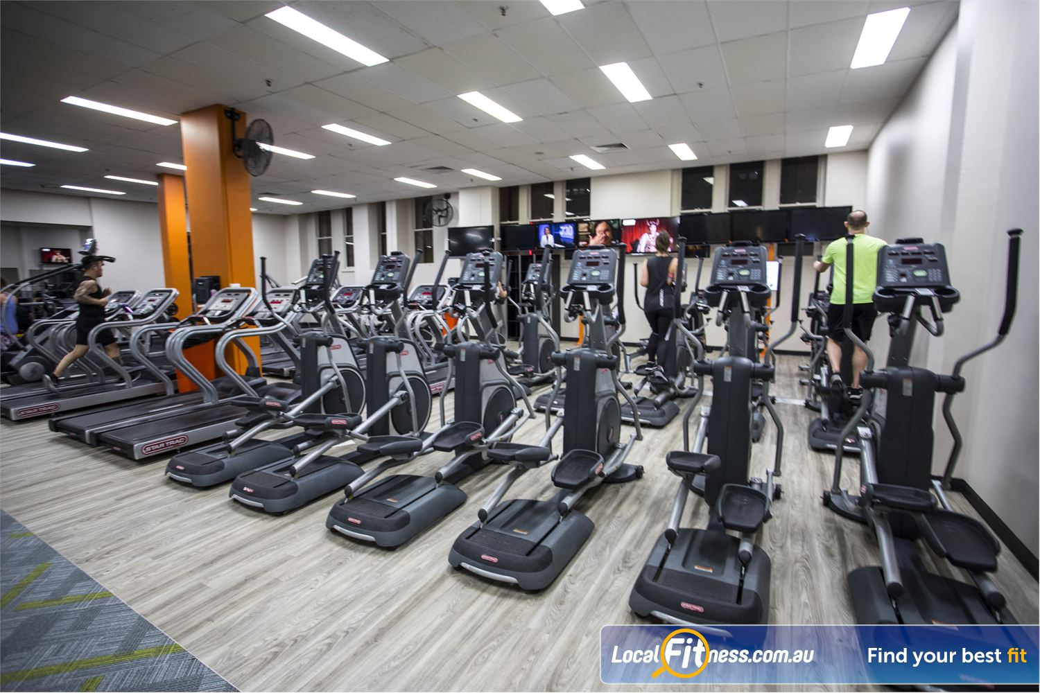 Fit n Fast Sydney Our FNF Sydney gym provides treadmills, cross-trainers, rowers and more.