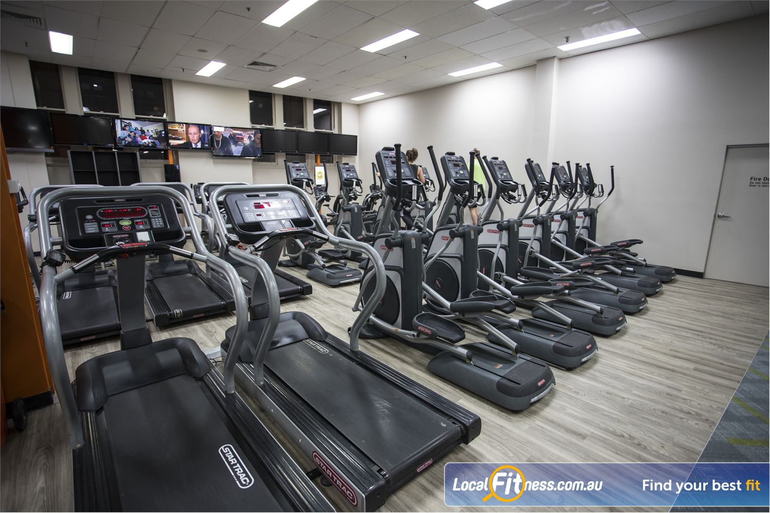 Fit n Fast Sydney Get your heart pumping in our Sydney gym cardio area.