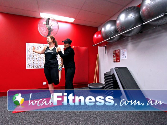 Snap Fitness Holland Park Work those abs and stretch those muscles in our dedicated area.