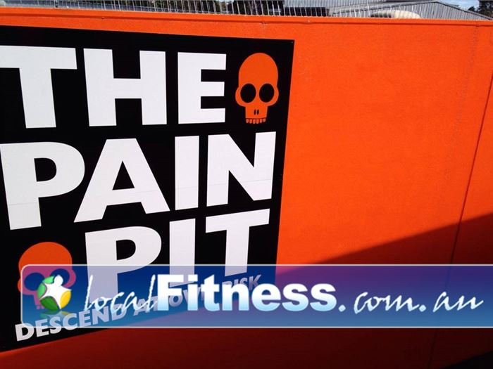 Bulleen Health and Fitness Bulleen Welcome to the Pain Pit - Descend if you dare!