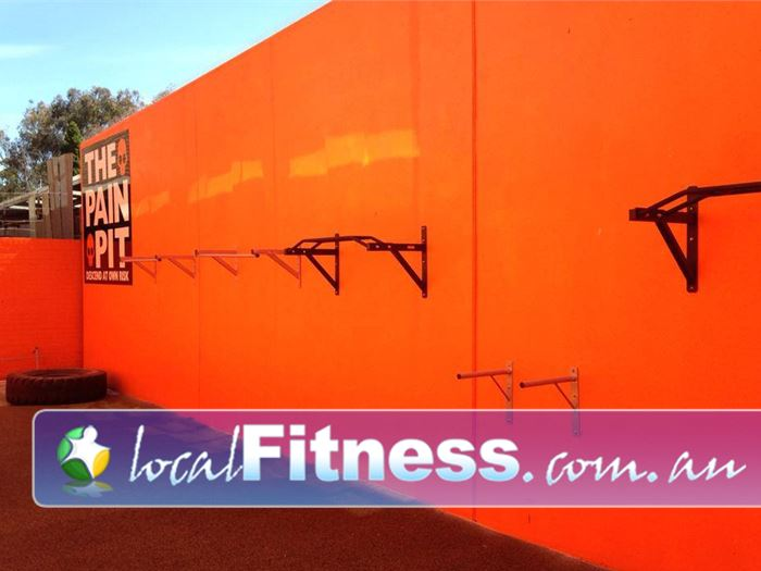 Bulleen Health and Fitness Bulleen The spacious Pain Pit is located on level 4.