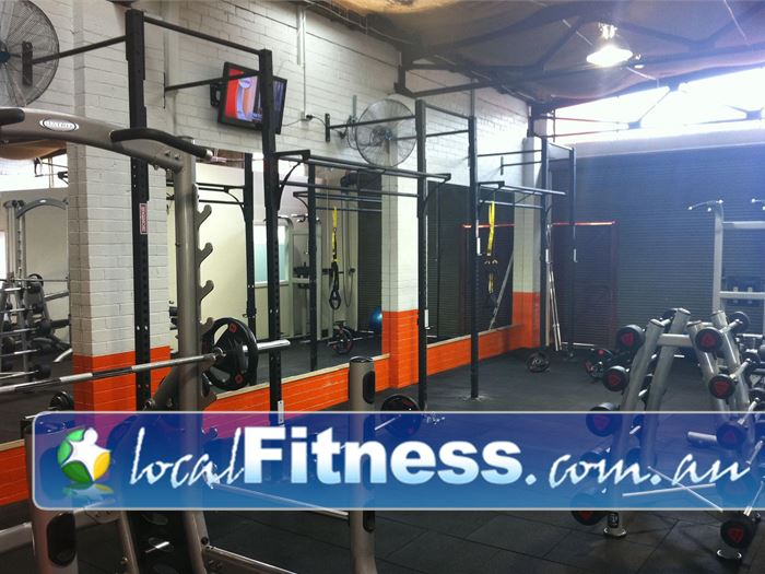 Bulleen Health and Fitness Near Doncaster Enjoy body weight training on our functional training matrix.
