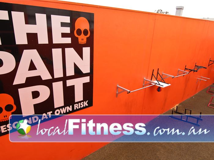 Bulleen Health and Fitness Near Mont Albert North Welcome to the Pain Pit - Descend at your own risk!