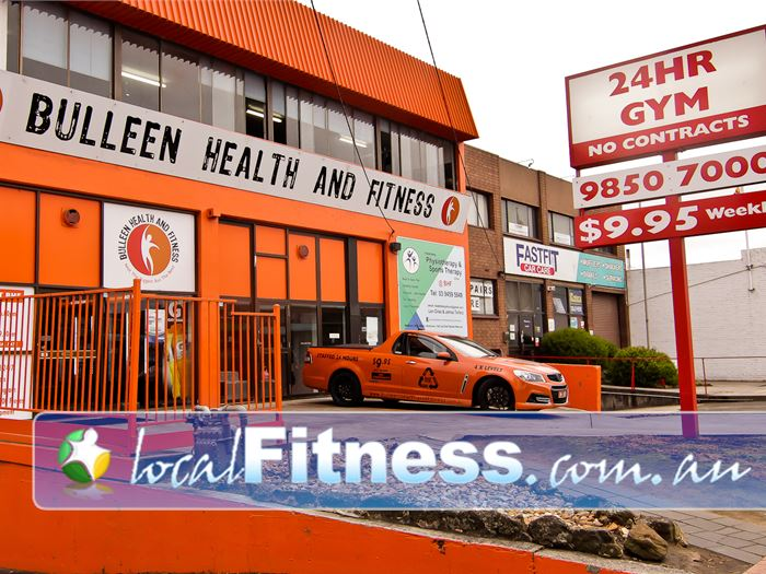 Bulleen Health and Fitness Bulleen Our Bulleen 24 hour gym is staffed 24 hours a day to give you the service you need.