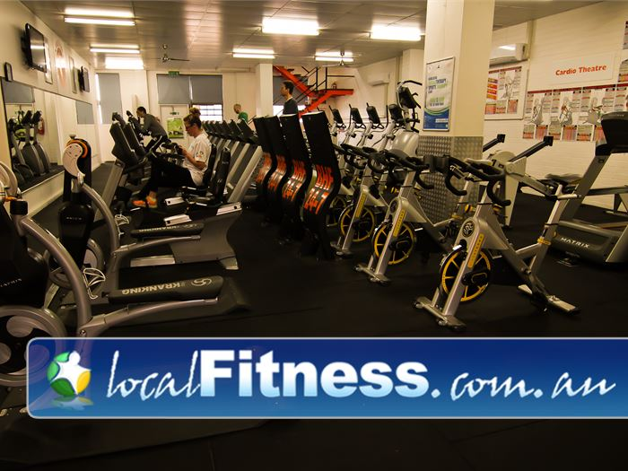 Bulleen Health and Fitness Bulleen The latest cardio technology from Matrix.