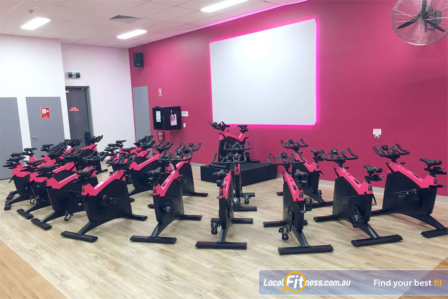Fernwood Fitness Robina The dedicated Robina spin cycle studio with virtual cycle classes.