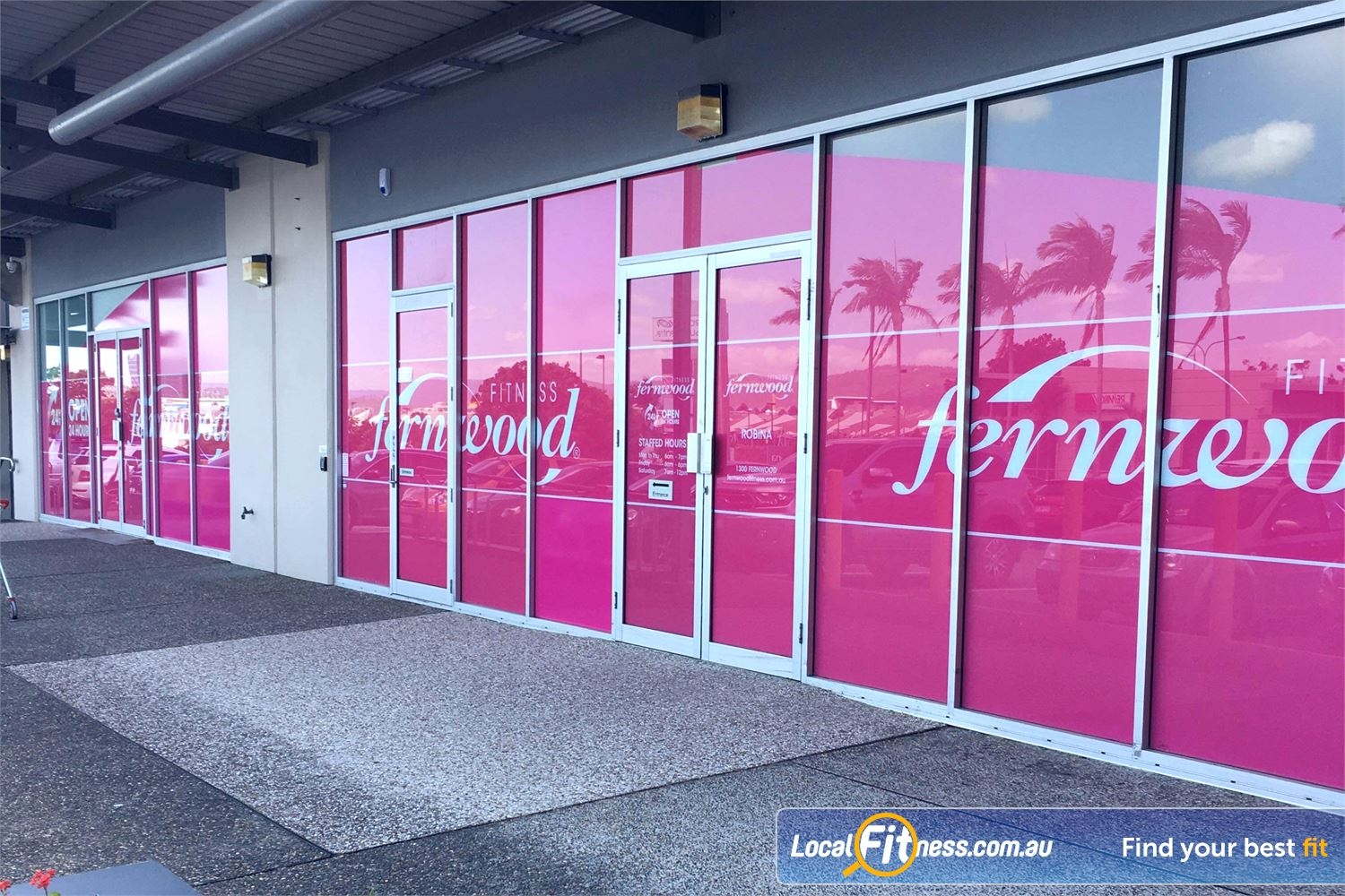Fernwood Fitness Robina Calling all women night owls and early birds with 24 hour Robina gym access.