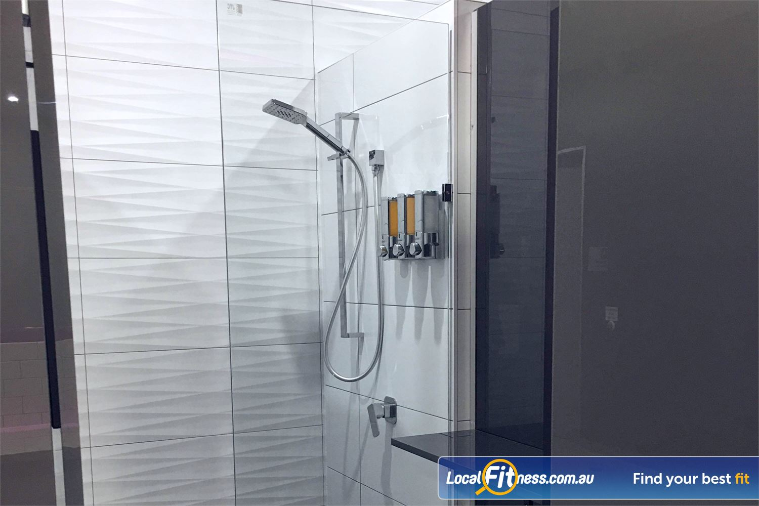Fernwood Fitness Near Robina Town Centre Enjoy the water pressure in our sparkling showers.
