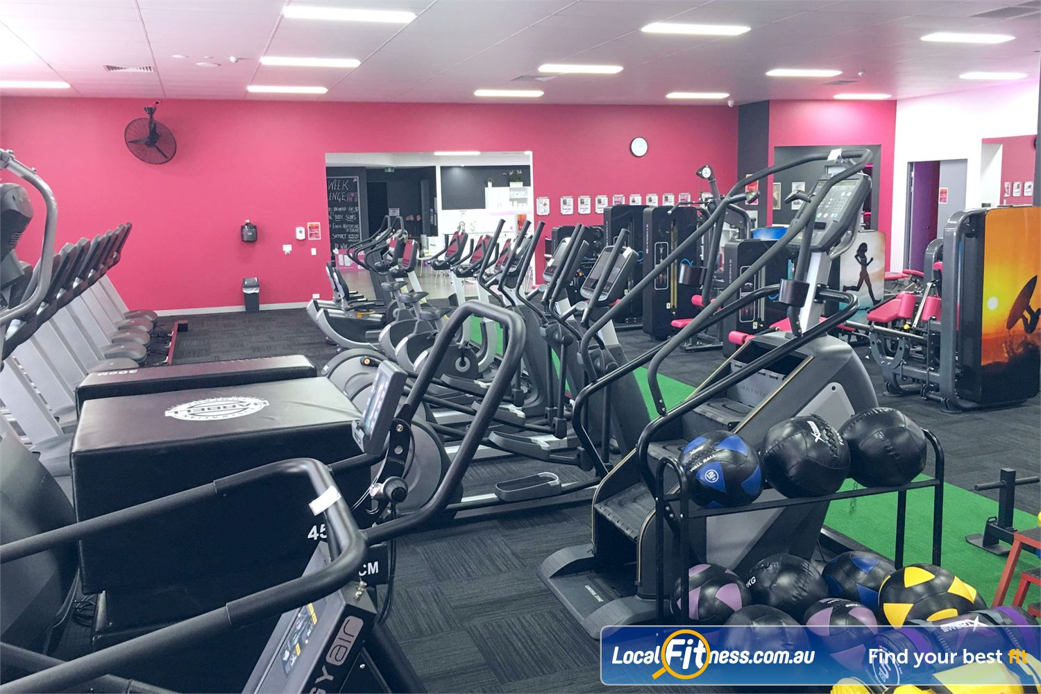 Fernwood Fitness Near Varsity Lakes Vary your cardio with cross-trainers, treadmills, climbmills and more.