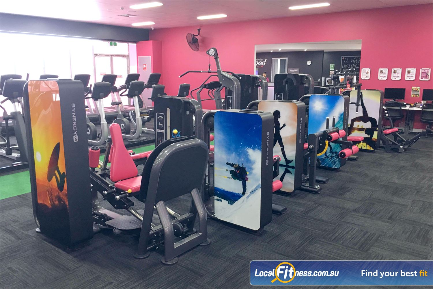 Fernwood Fitness Near Reedy Creek Our fully equipped Robina 24/7 gym provides state of the art equipment.