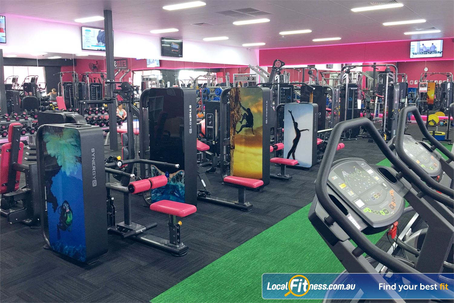 Fernwood Fitness Near Robina Town Centre At Fernwood Robina, we help create strong and healthy women.