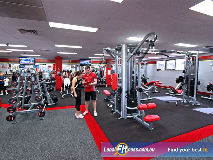 Snap Fitness Gym Parkdale  | The spacious 24 hour Hampton gym area.