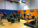 Plus Fitness 24/7 Voyager Point Gym Fitness Rows of cardio machines