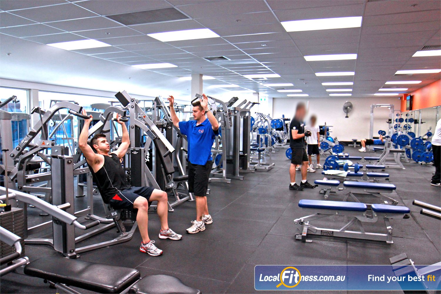Goodlife Health Clubs Near Medindie Our North Adelaide gym instructors Can tailor a strength program for you.