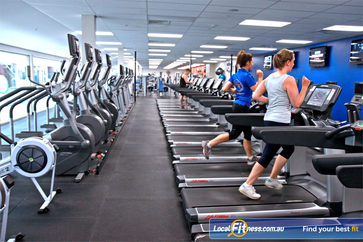 Goodlife Health Clubs Near Fitzroy Tune into your favorite shows on your personalised LCD screen or cardio theatre.