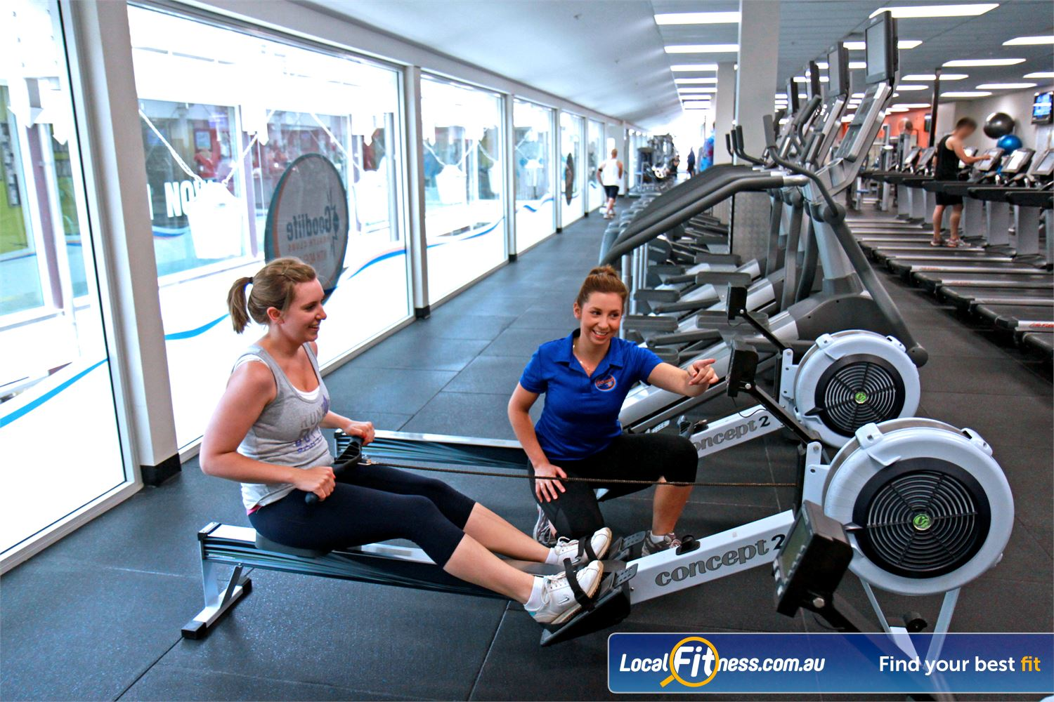 Goodlife Health Clubs North Adelaide Tune into your favourite shows on your personalised LCD screen or cardio theatre.