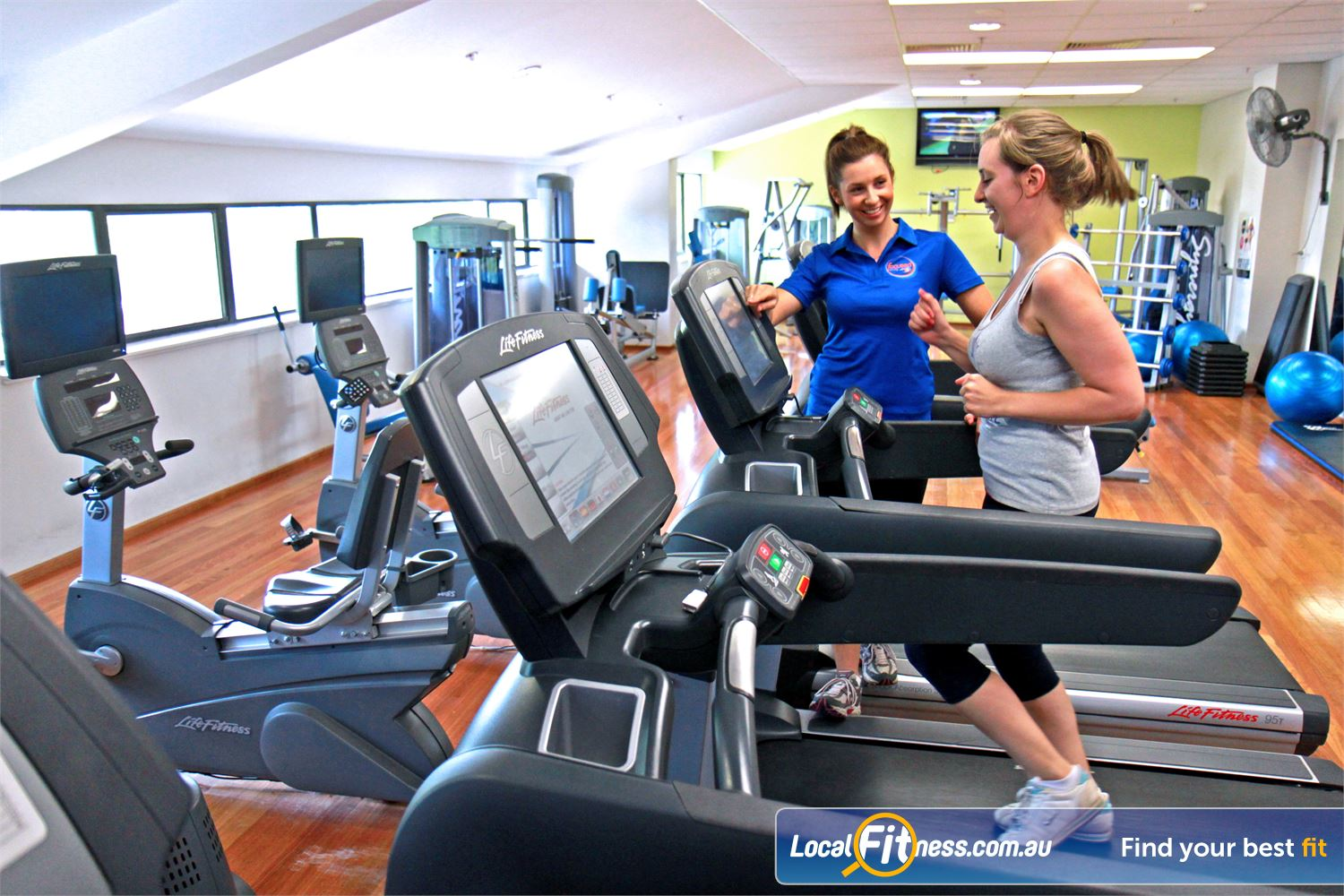 Goodlife Health Clubs Near Bowden The private and uninterrupted North Adelaide ladies gym.
