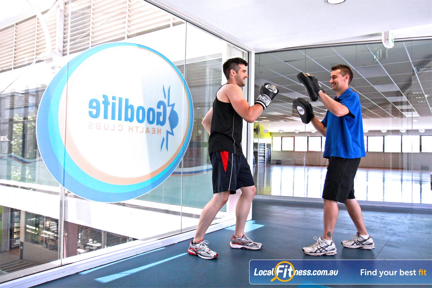 Goodlife Health Clubs North Adelaide Our North Adelaide gym provides natural light and a spacious gym area.
