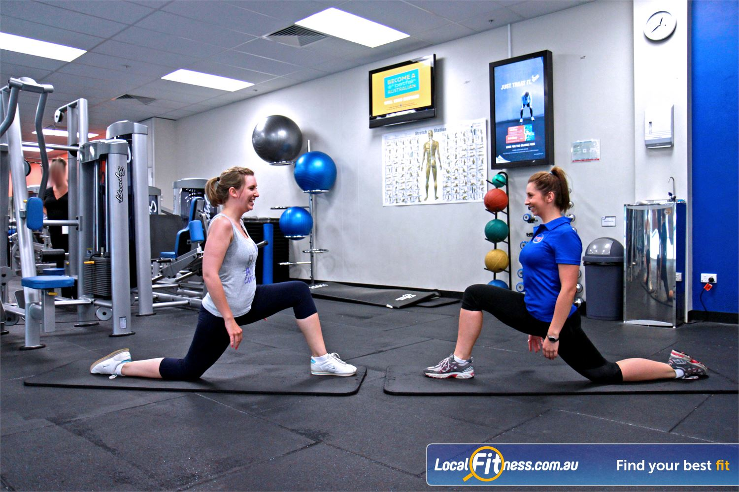 Goodlife Health Clubs North Adelaide The dedicated and spacious North Adelaide group fitness studio.