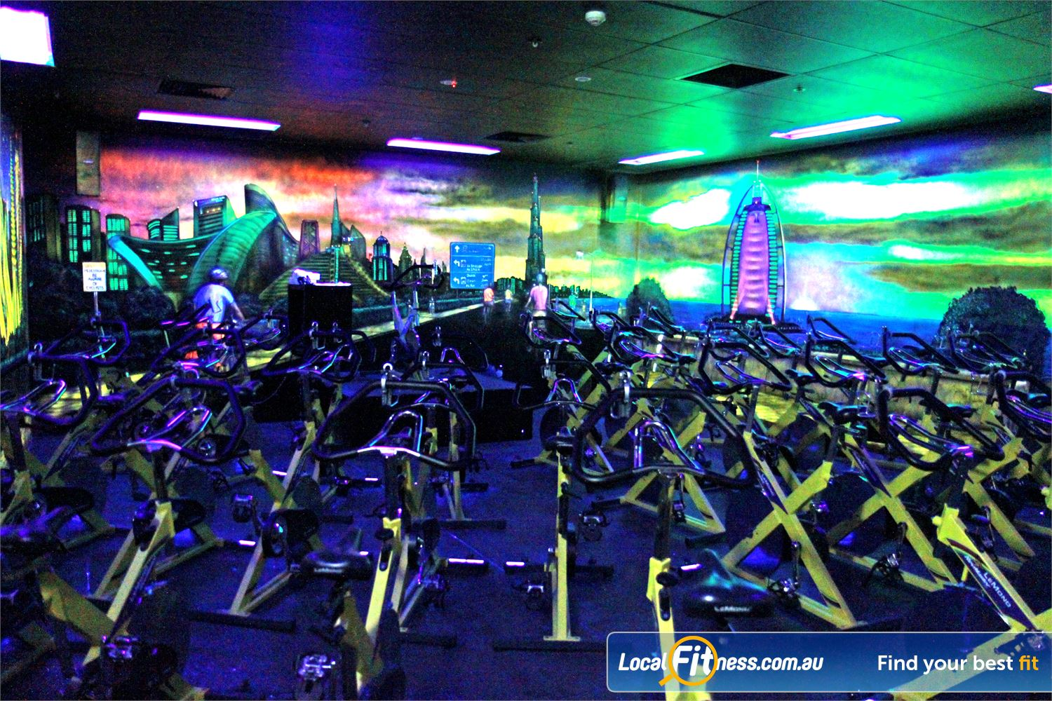 Goodlife Health Clubs Near Medindie Dedicated North Adelaide spin cycle studio.