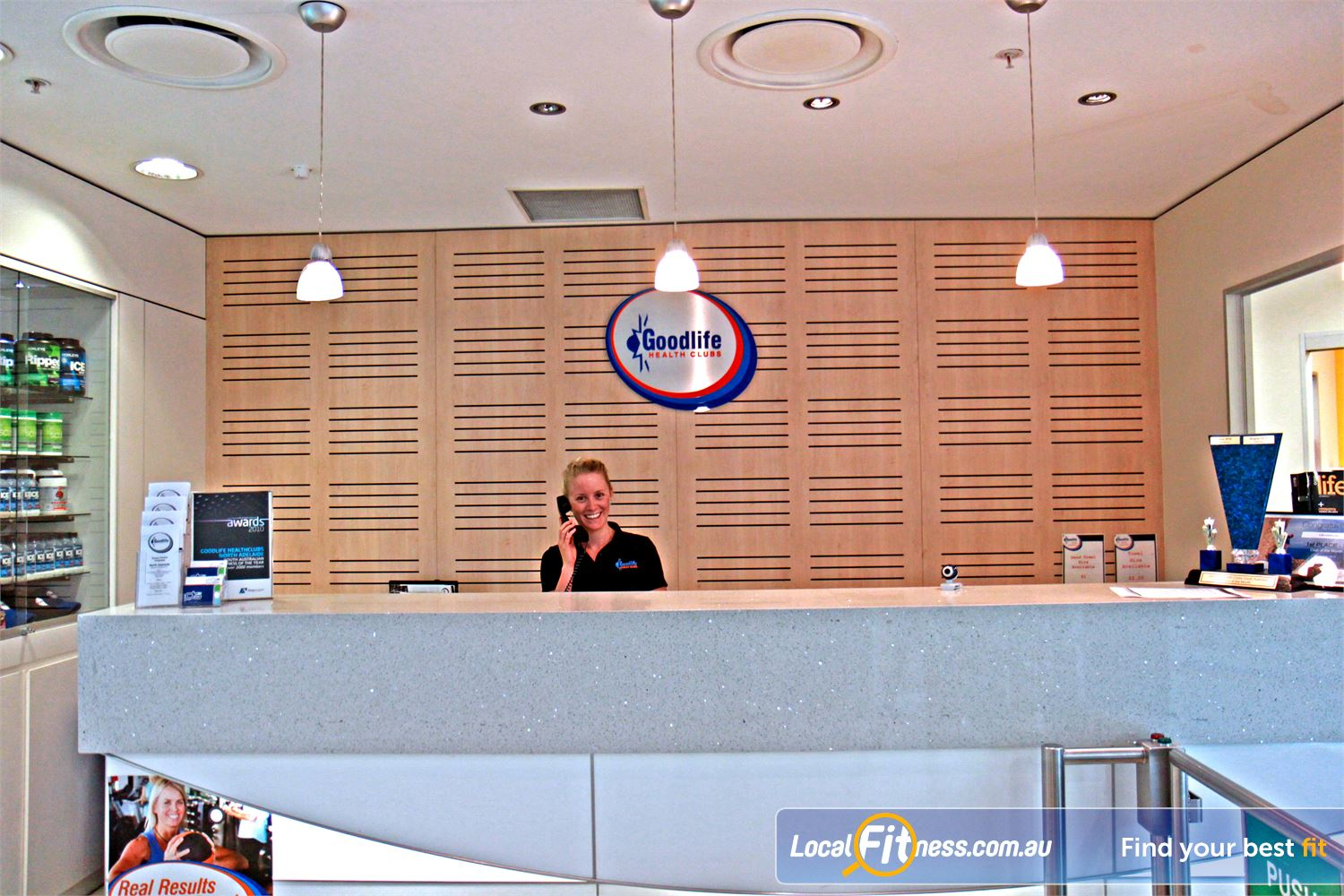 Goodlife Health Clubs North Adelaide Meet our friendly Goodlife team who will take care of your every need.