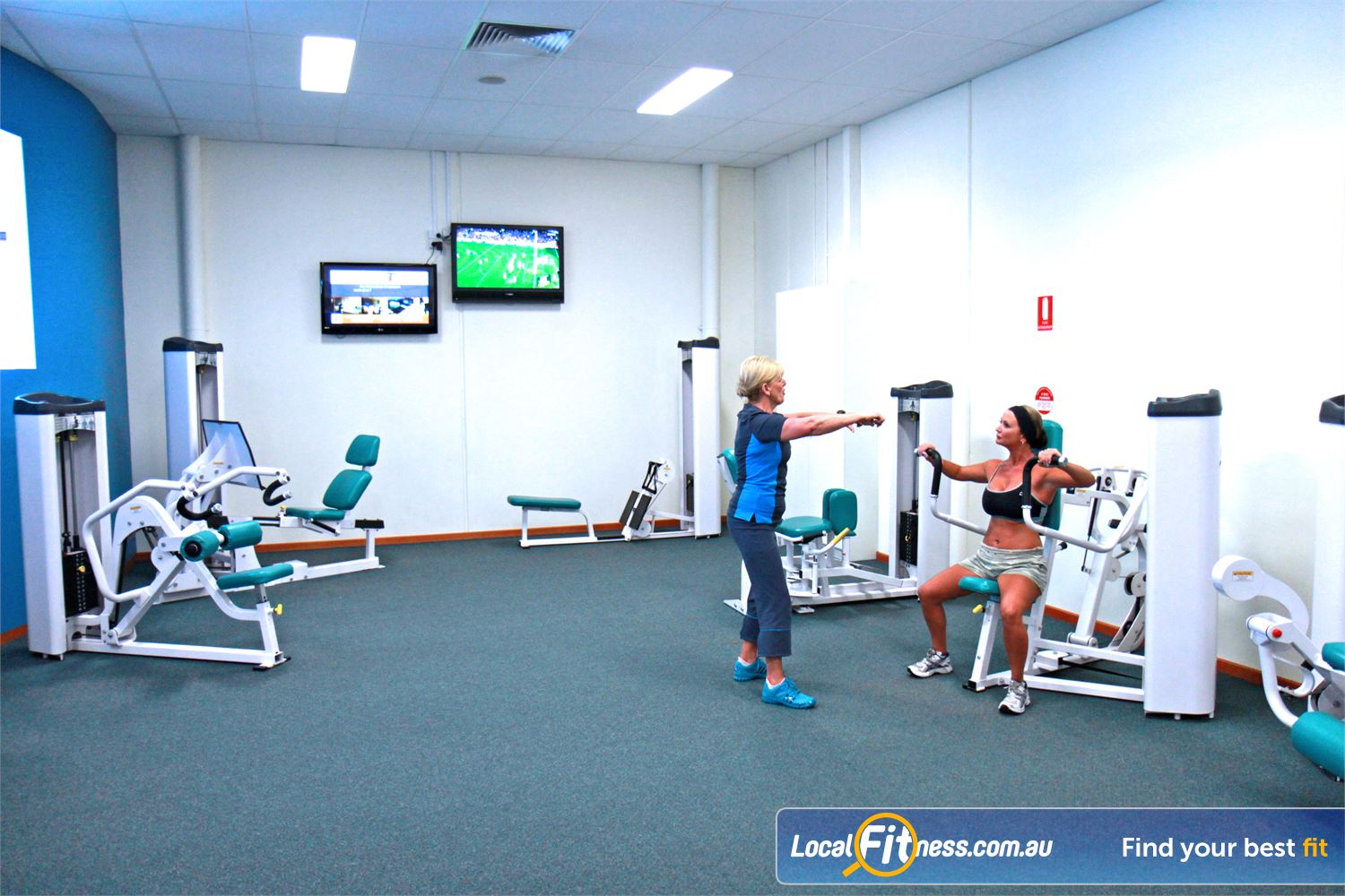 Fernwood Fitness Waurn Ponds Our Waurn Ponds womens gym is conveniently located at the Waurn Ponds Plaza.
