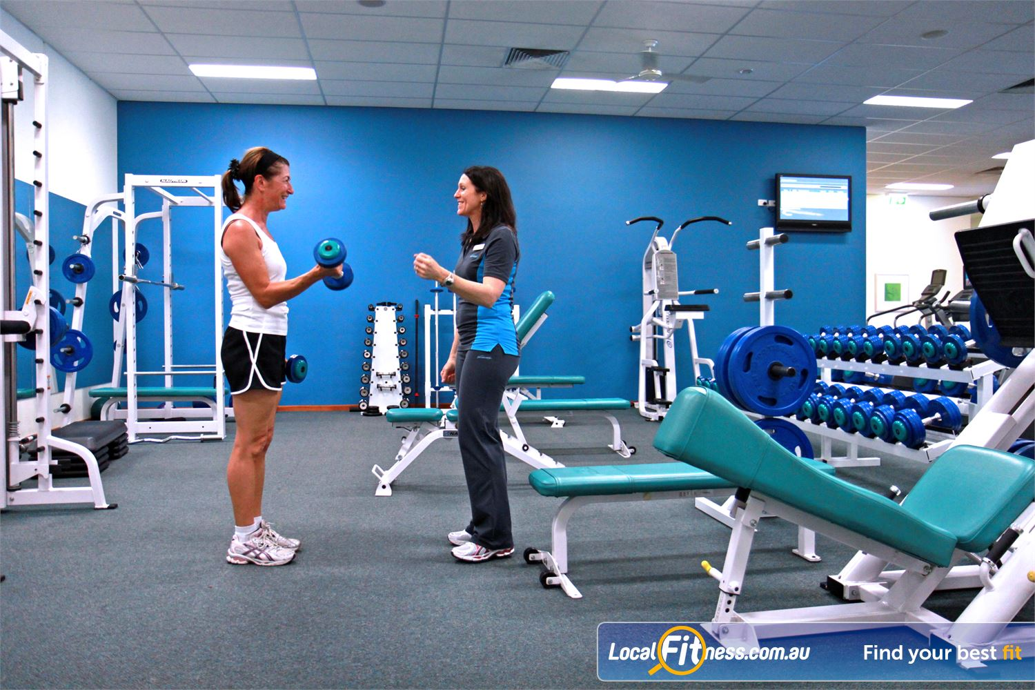 Fernwood Fitness Near Ceres Our Waurn Ponds women's gym strength training programs allow you to progress.