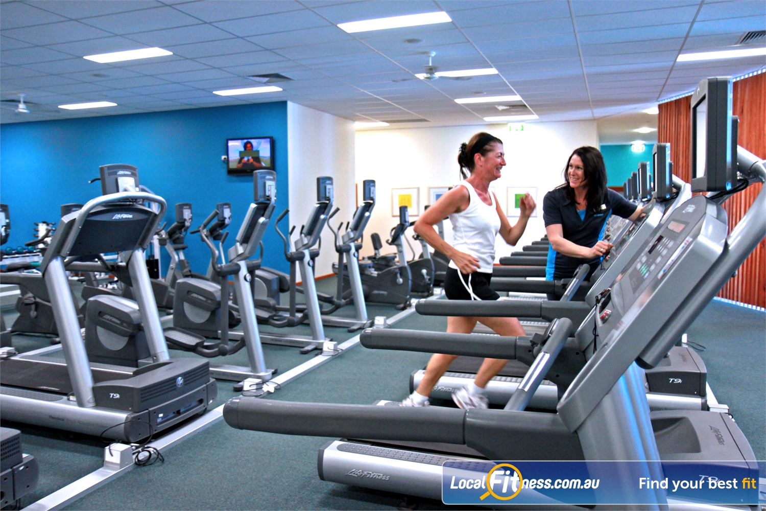 Fernwood Fitness Waurn Ponds Fernwood Waurn Ponds gym instructors can help you with cardio and weight management.