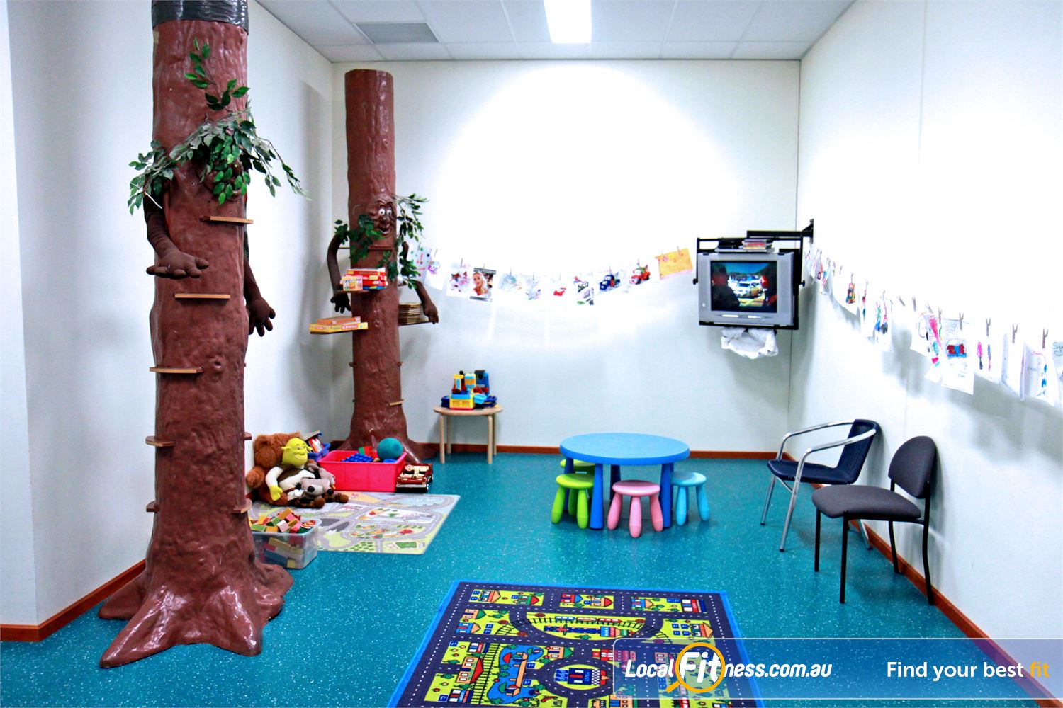Fernwood Fitness Near Newtown Fernwood Waurn Ponds child-care is conveniently located on-site.