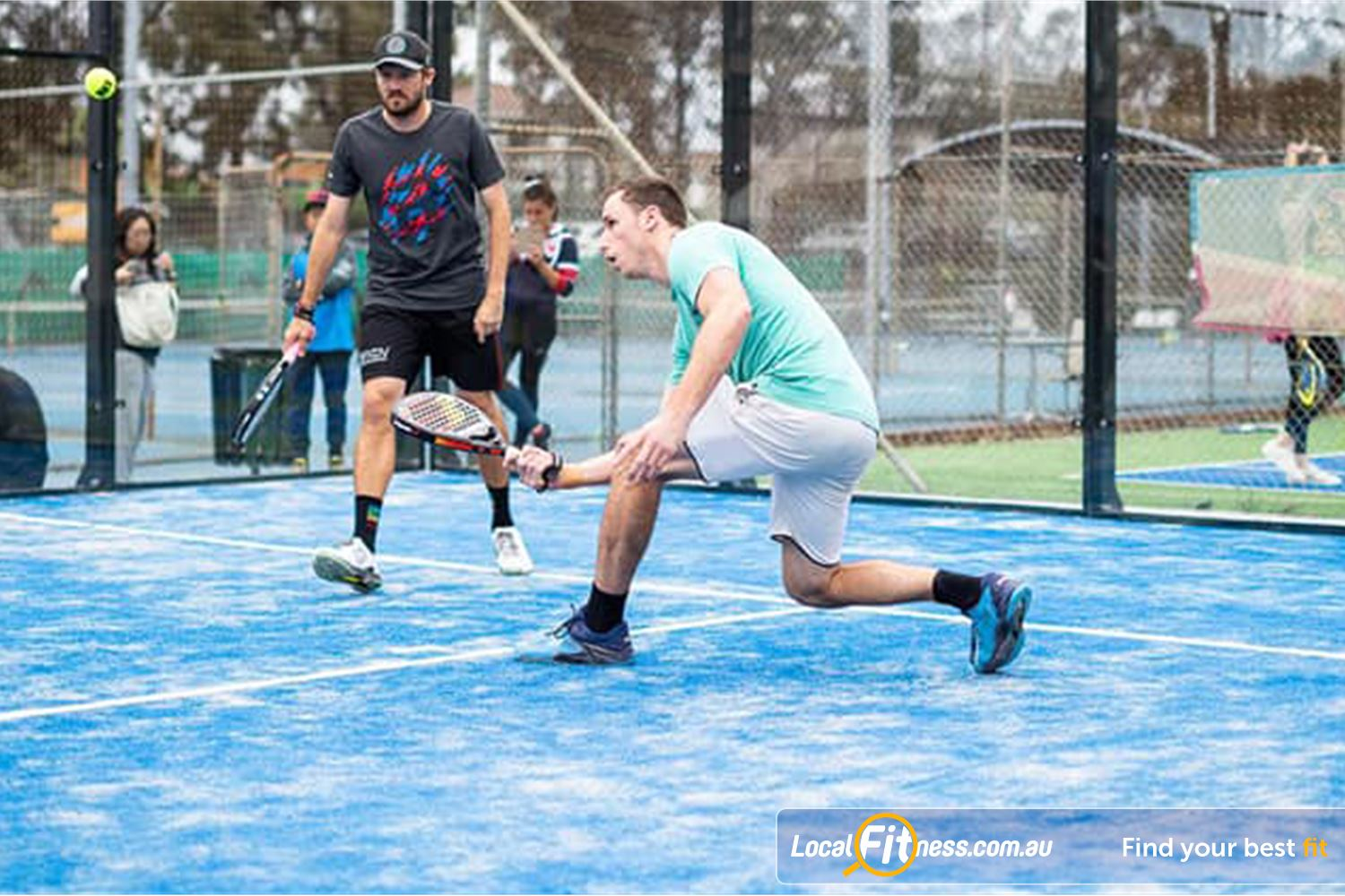 North Ryde Fitness & Aquatic Near Marsfield Experience a new sport, Padal described as 'tennis with walls' and 'squash in the sun'.