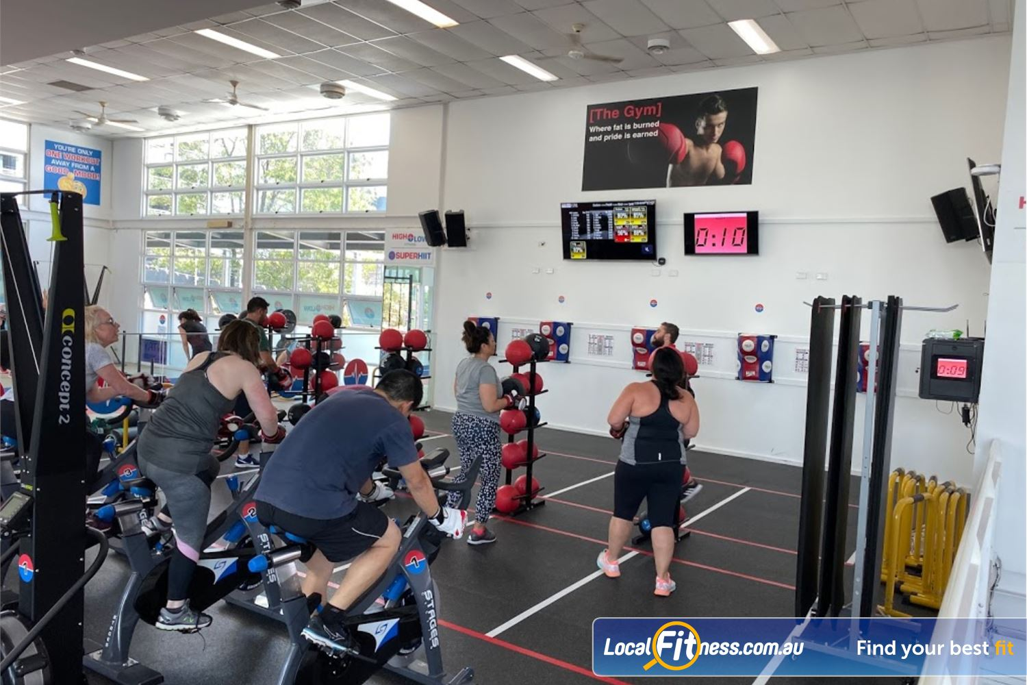 North Ryde Fitness & Aquatic Near Denistone Track your results and watch your progress with MyZone wearable tech.