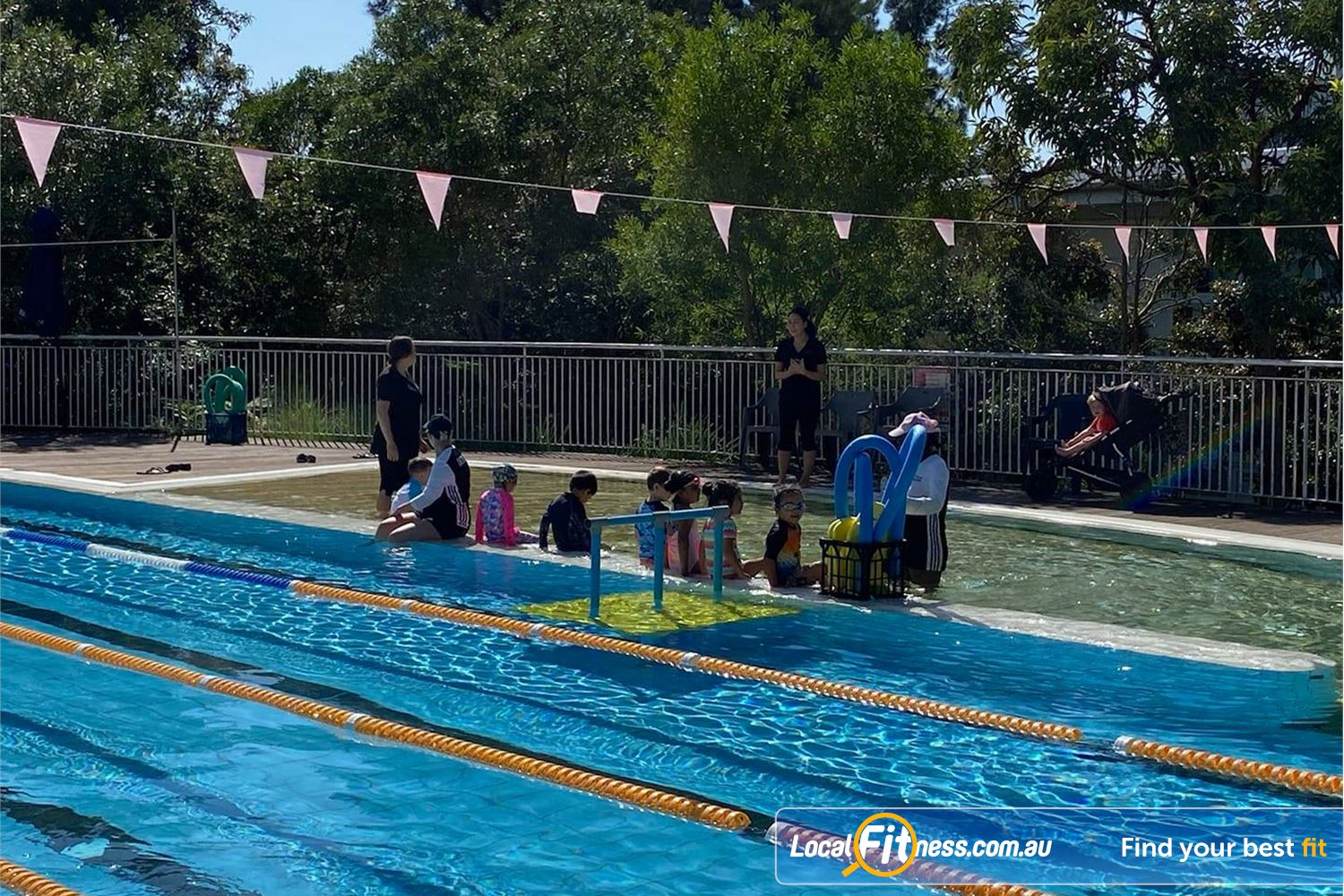North Ryde Fitness & Aquatic Near Meadowbank Learn to swim with North Ryde swim school classes.