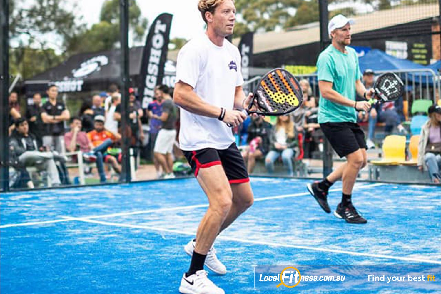 North Ryde Fitness & Aquatic North Ryde Padal is similar to existing racquet sports like tennis, racquetball and squash.