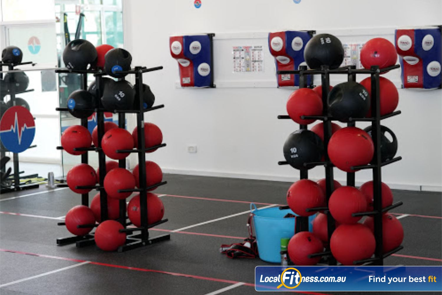 North Ryde Fitness & Aquatic Near Meadowbank Our North Ryde gym is fully equipped for functional training and boxing.