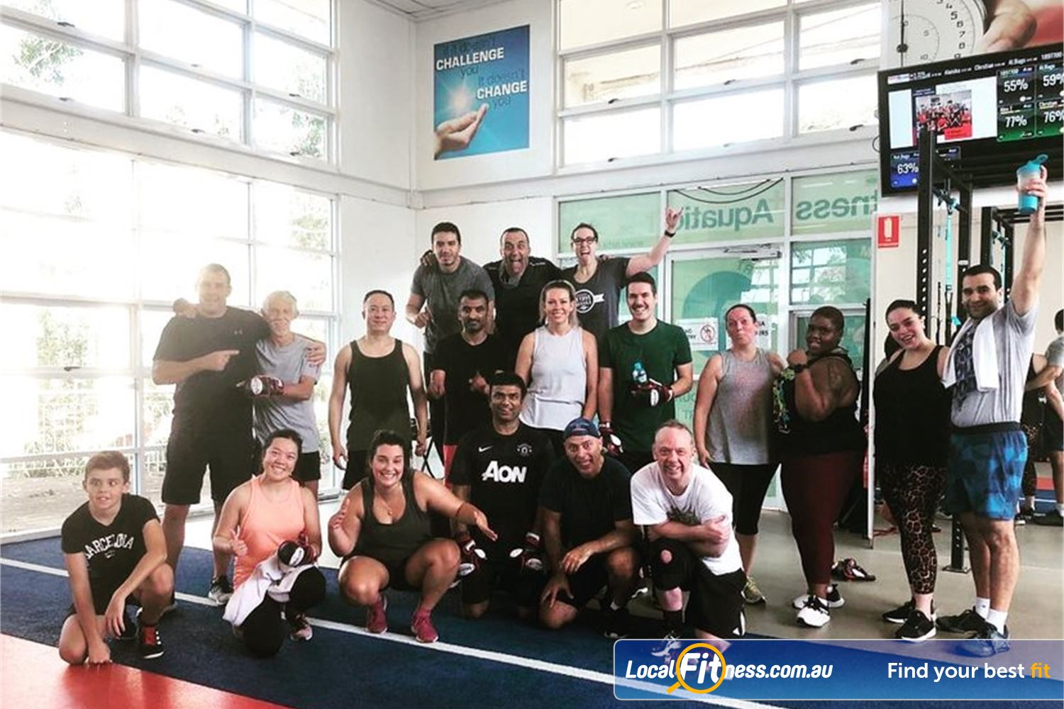 North Ryde Fitness & Aquatic North Ryde Try our own style of North Ryde HIIT classes.