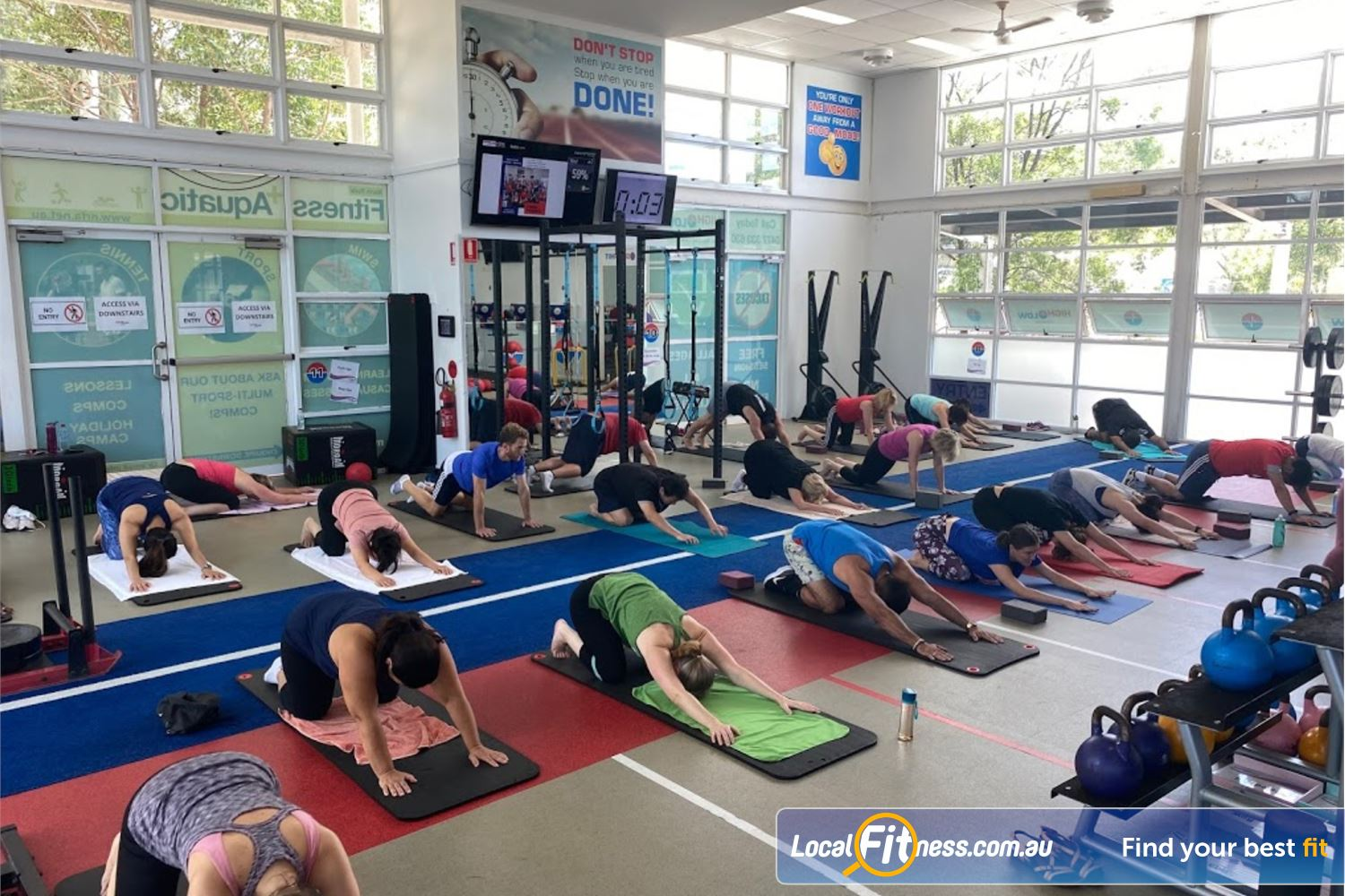 North Ryde Fitness & Aquatic North Ryde Our classes inc. North Ryde Yoga, Boxing, HIIT and more.