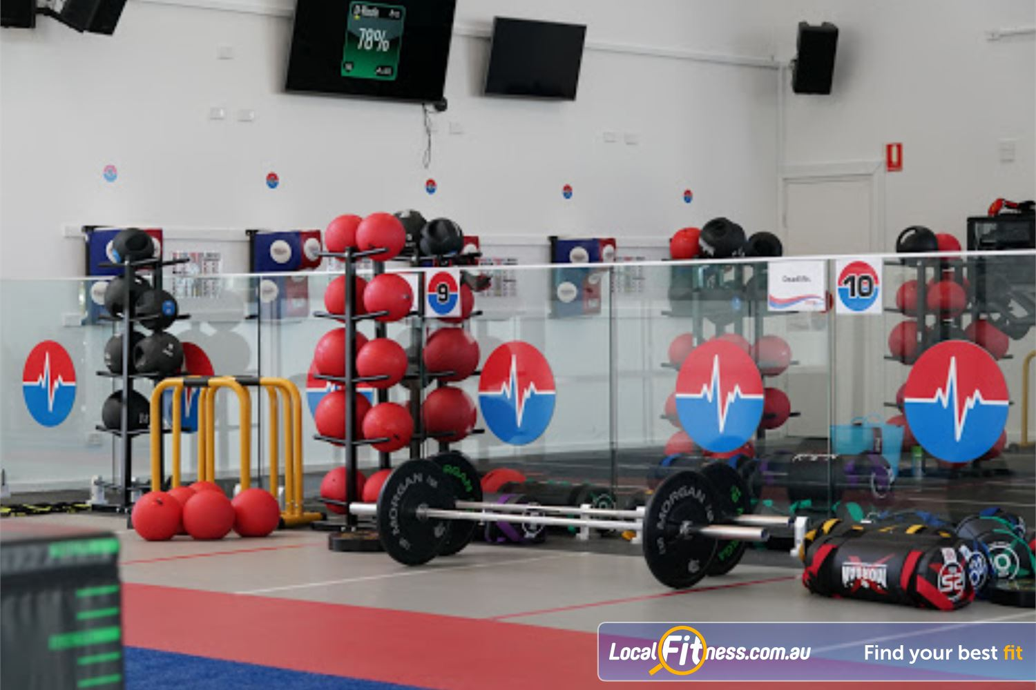 North Ryde Fitness & Aquatic Near Denistone Strength, boxing, HIIT, functional training and more.