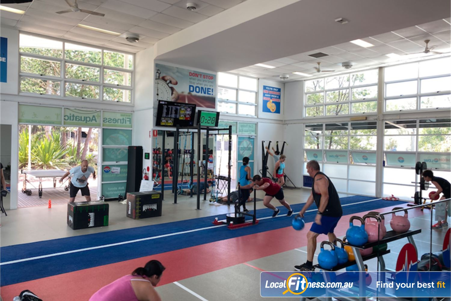 North Ryde Fitness & Aquatic North Ryde The dedicated North Ryde functional training studio.