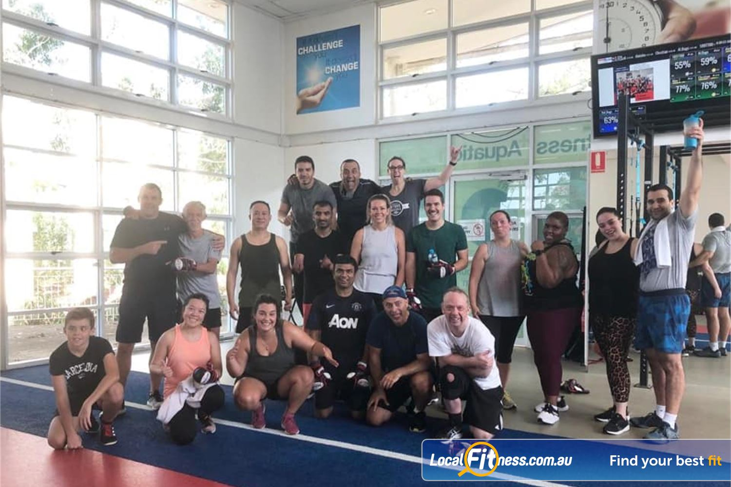 North Ryde Fitness & Aquatic Near Marsfield Experience the fun of our HighLow functional training classes.