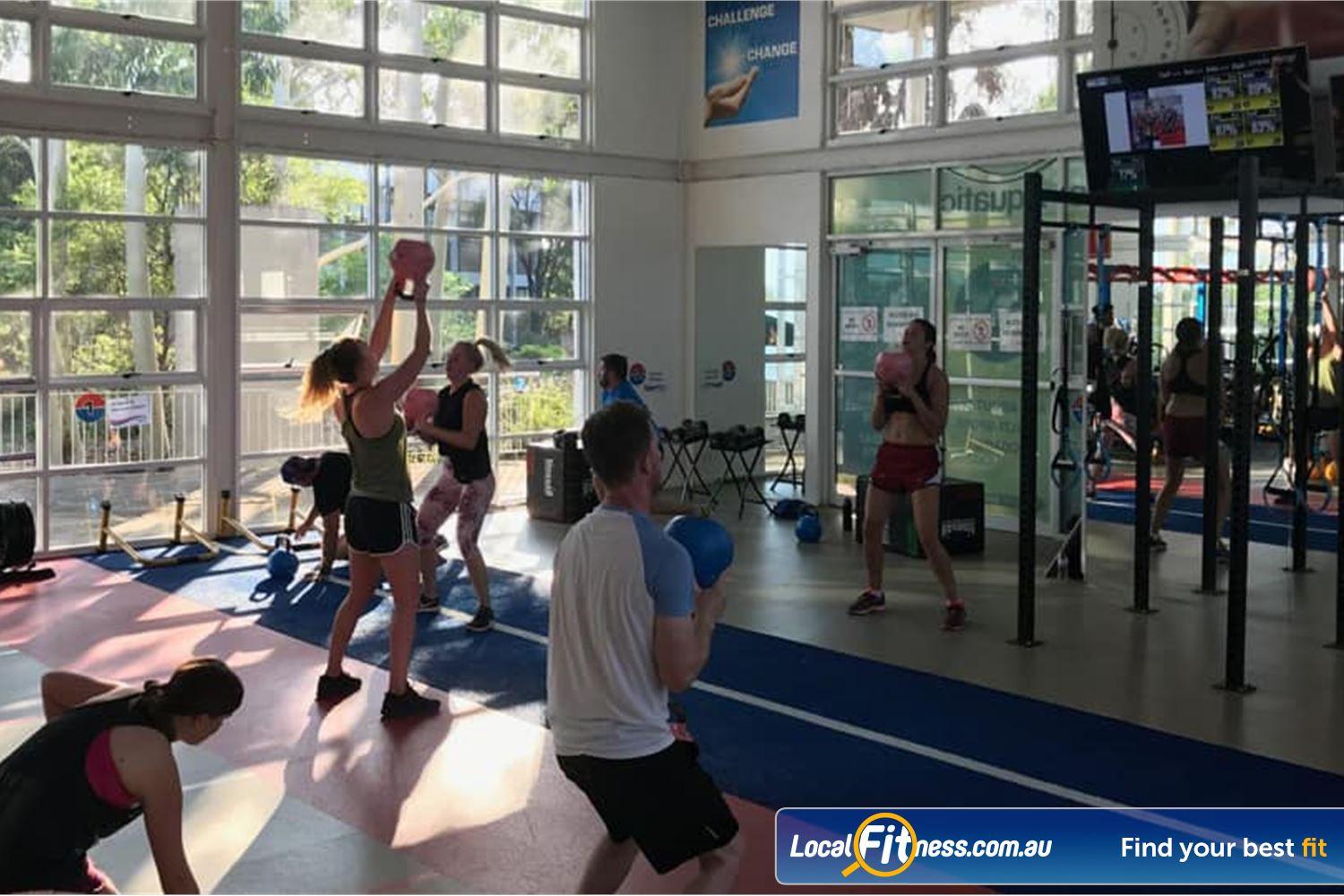 North Ryde Fitness & Aquatic Near Denistone The fully equipped North Ryde HIIT gym.