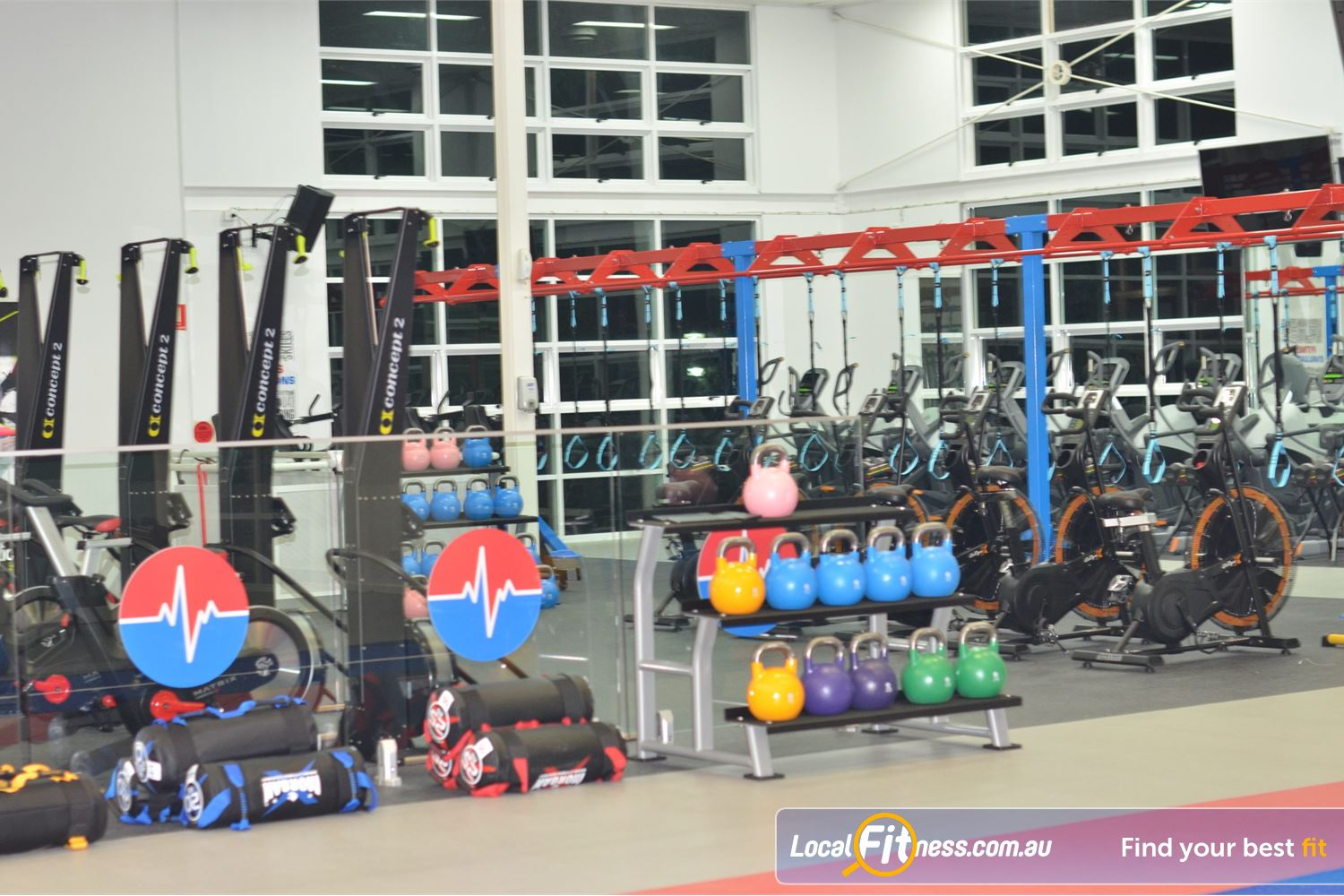 North Ryde Fitness & Aquatic North Ryde The dedicated North Ryde HIIT gym.