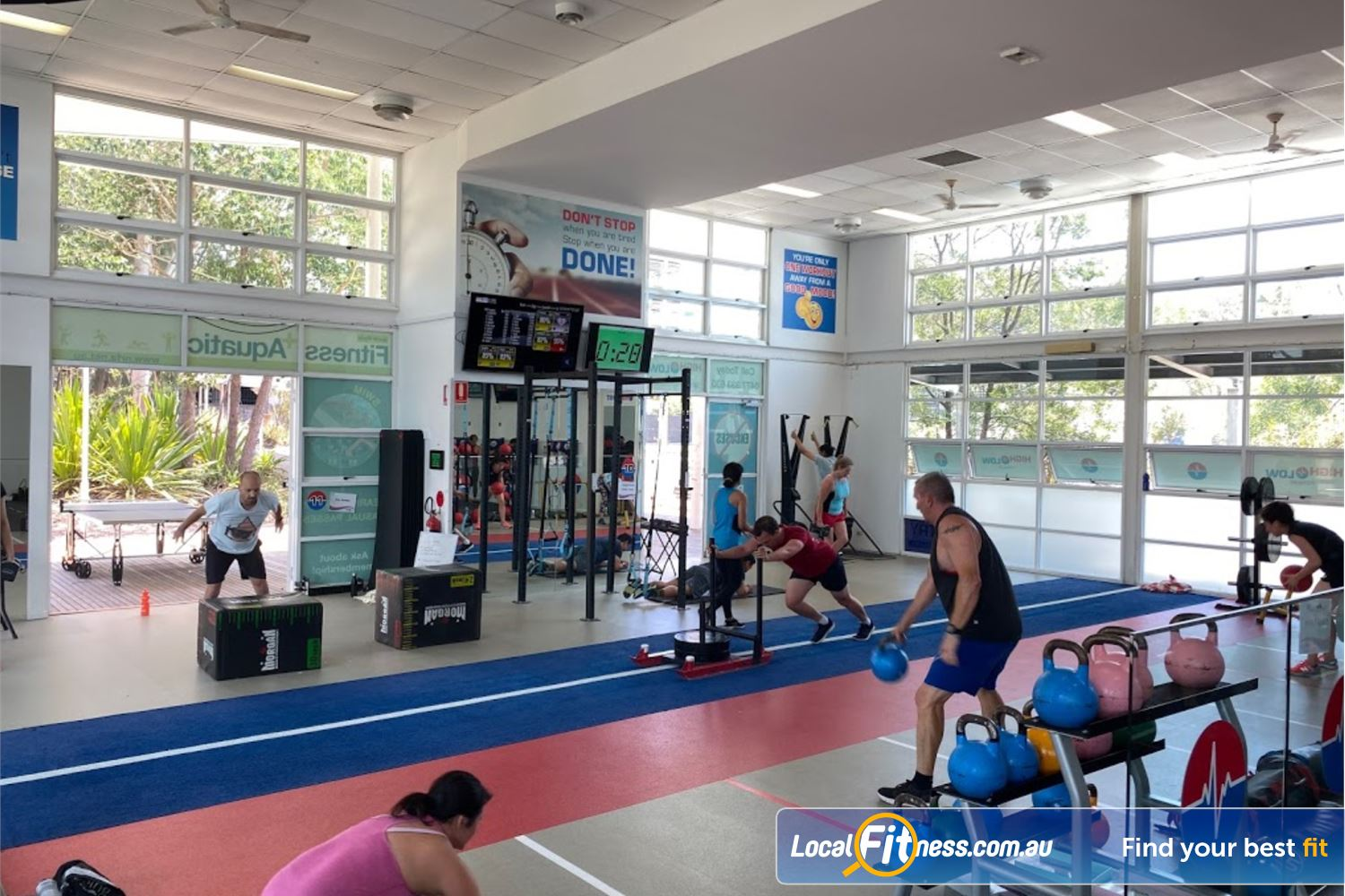 North Ryde Fitness & Aquatic North Ryde Our North Ryde HIIT gym provides a full range of HIIT classes.