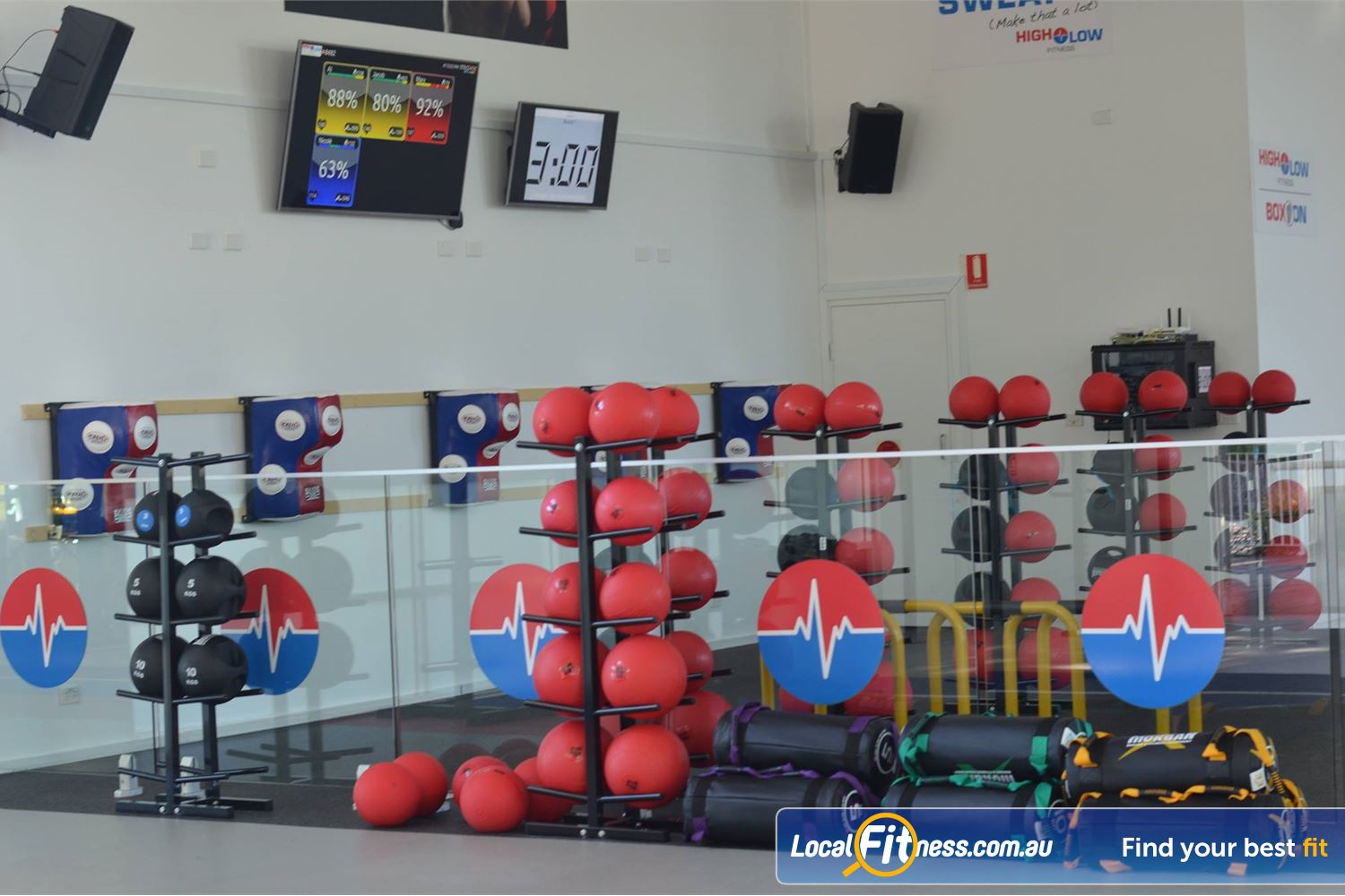 North Ryde Fitness & Aquatic Near Marsfield HighLow is our own brand of functional HIIT classes.
