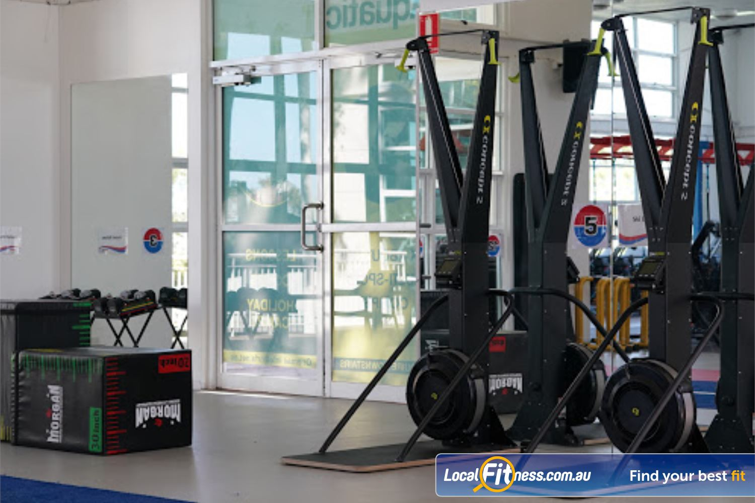 North Ryde Fitness & Aquatic Near Denistone Our HIIT classes provide strength and cardio in one session.