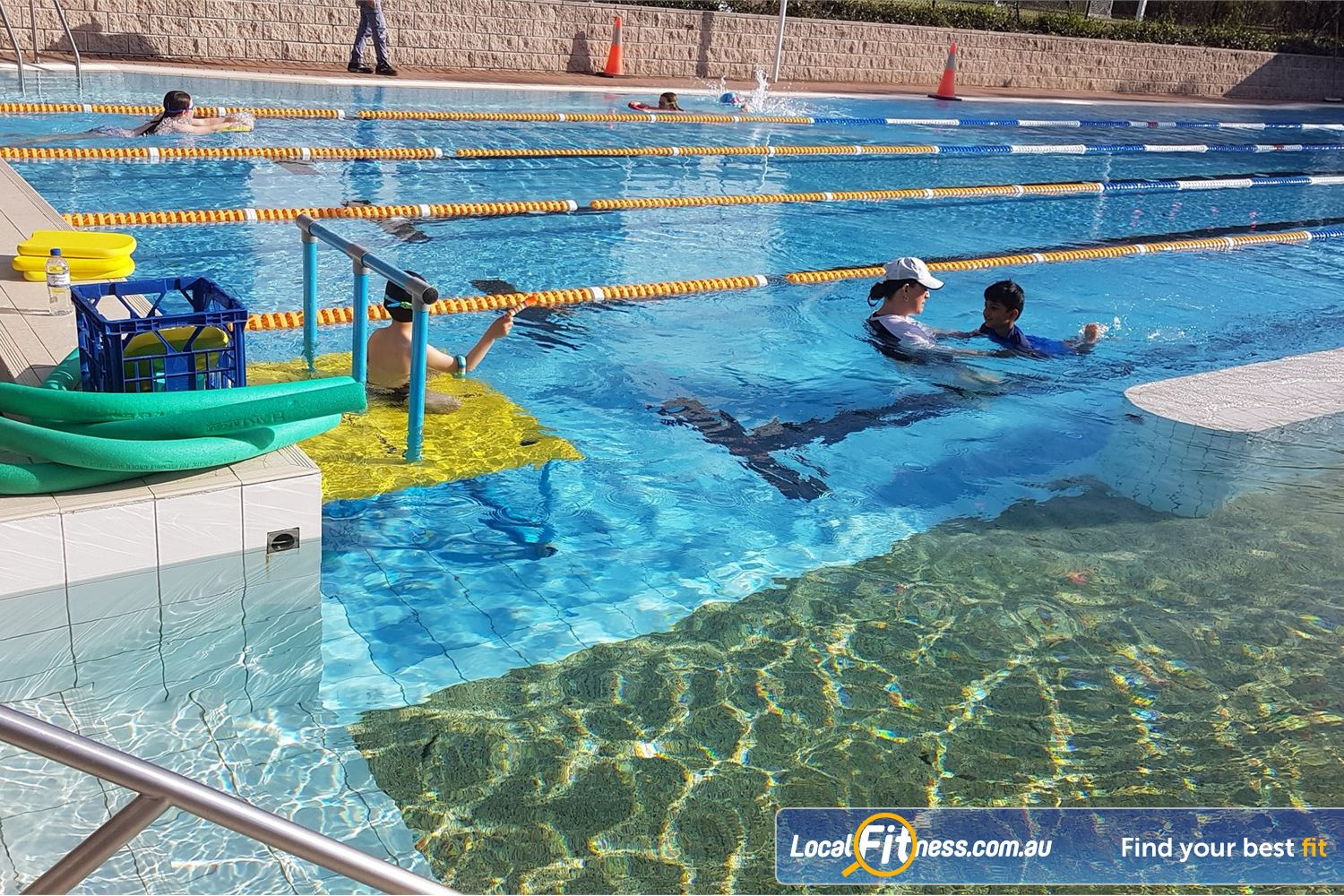 North Ryde Fitness & Aquatic Near Denistone 25m North Ryde swimming pool which is available for Junior/Adult Swimming Lessons.