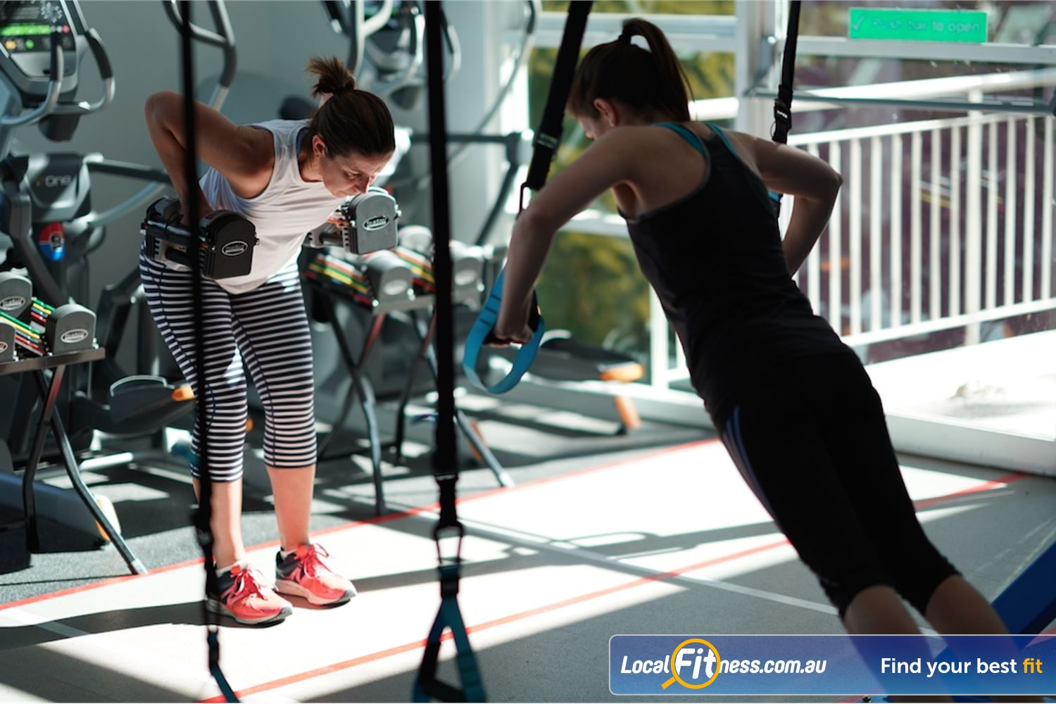 North Ryde Fitness & Aquatic Near Marsfield Our fitness classes cater for all levels of strength and fitness.