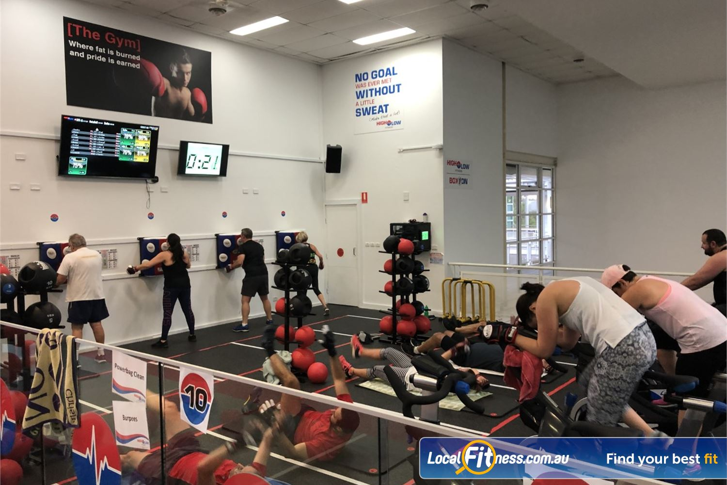 North Ryde Fitness & Aquatic Near Denistone Try our North Ryde boxing inspired classes.
