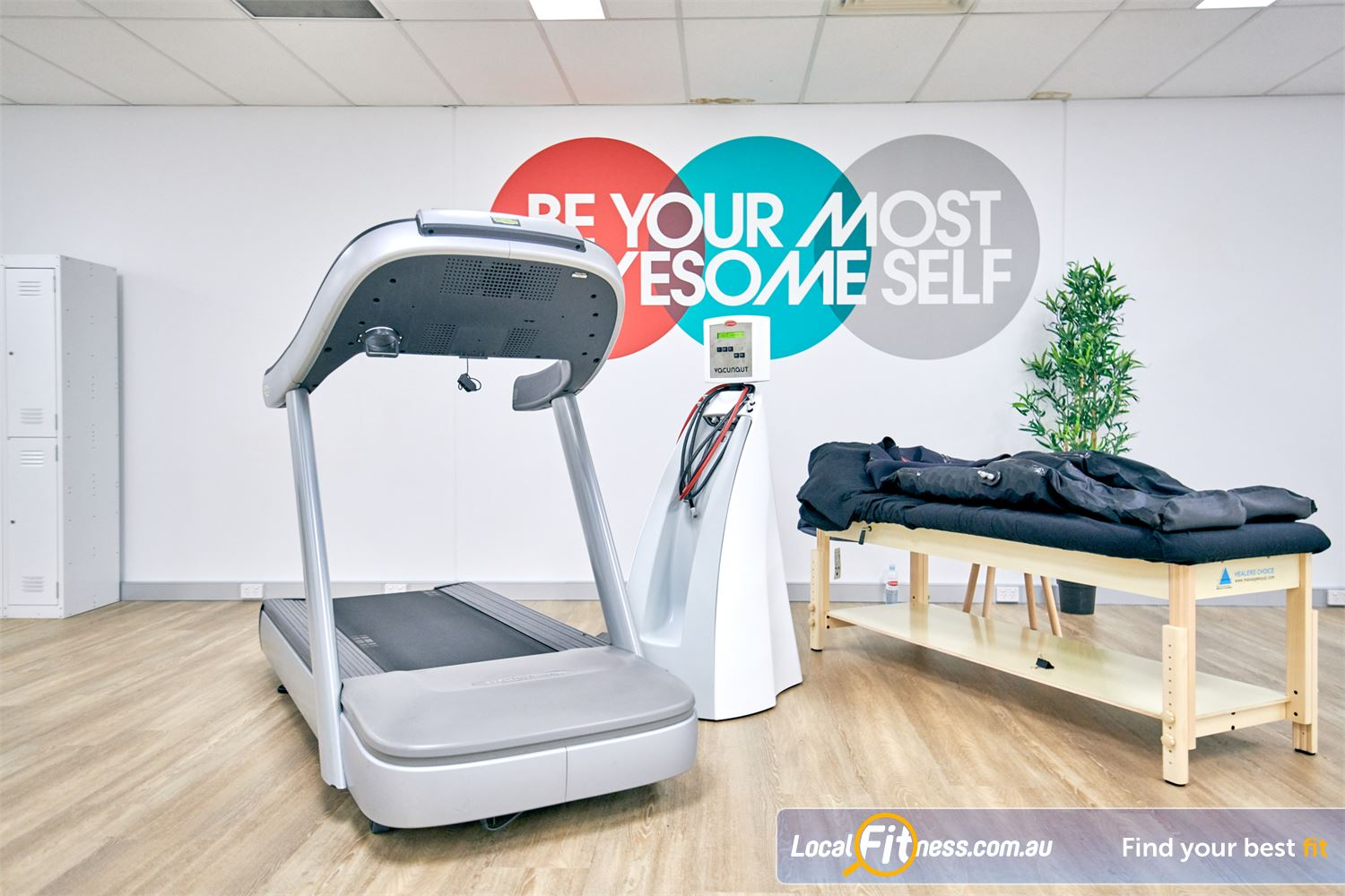 HYPOXI Weight Loss Jindalee HYPOXI Jindalee is great for men looking to lose those love handles.